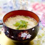 素麺のかき玉汁