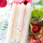 シンプルに美味しい!手ごね食パンのハムチーズサンドウィッチ