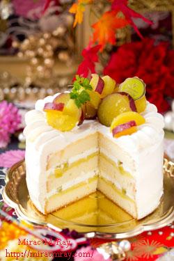 さつまいもショートケーキ-3