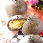 レモン&オレンジ香る 黒ゴマさつまいも餡パン