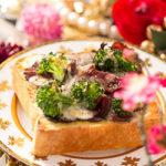 ローストビーフ&ブロッコリーチーズトースト 【レシピ】