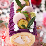紫芋モンブランロールケーキ