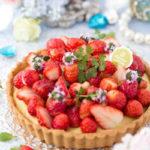 苺のカスタードクリームタルト