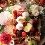ラズベリー&いちごマシュマロトースト 【レシピ】