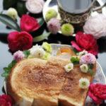 喫茶店のモーニング風厚切りシナモントースト【レシピ】