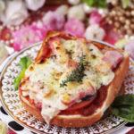 ジューシートマトのピザパントースト 【レシピ】