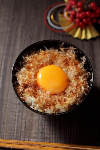 おかか卵かけご飯-2