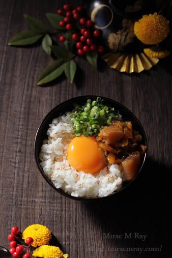 ねぶた漬け卵かけご飯-1