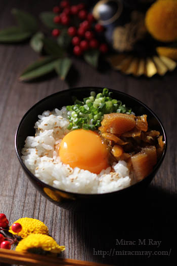 ねぶた漬け卵かけご飯-3