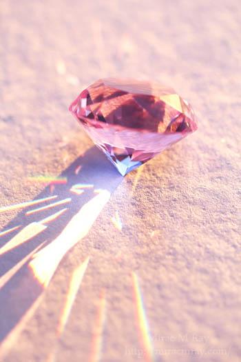 パープルガラスダイヤモンド-1