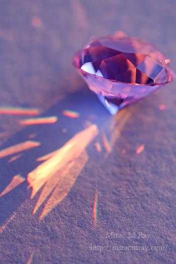 パープルガラスダイヤモンド-2