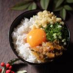 ヤマモト食品の味よし揚げ玉卵かけご飯【レシピ】