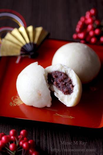 柚子甘酒饅頭-1