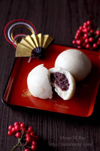 柚子甘酒饅頭-2