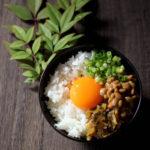 ヤマモト食品味よし納豆卵かけご飯 【レシピ】