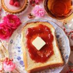苺ジャムバタートースト 【レシピ】