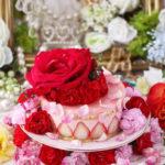 苺のムースケーキ