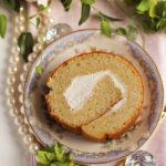 バナナシフォンロールケーキ