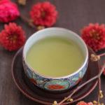 秋菊と深蒸し緑茶