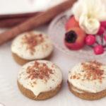 【レシピ】キャラメルシナモン香るホワイトチョコがけパンプキンちんすこう
