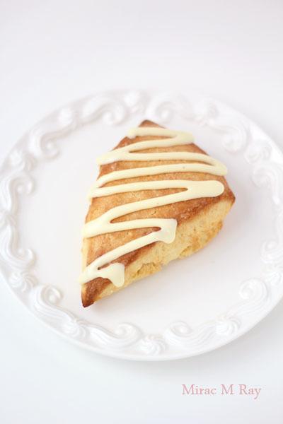 バニラクリームスコーン【レシピ】