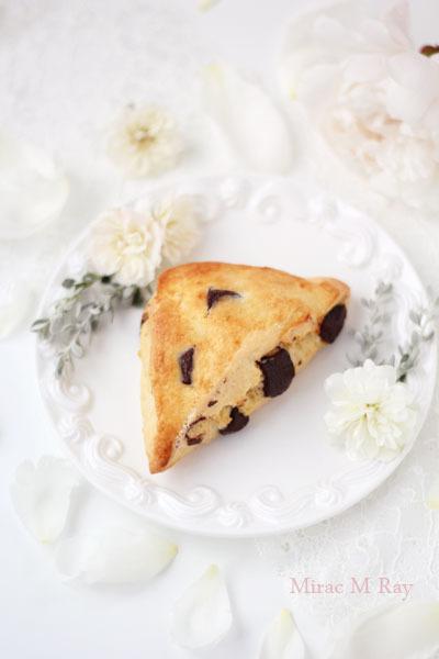 ビターチョコチャンクスコーン【レシピ】