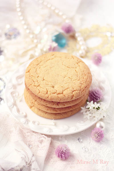 ソフトねっちりアメリカンシュガークッキー【レシピ】