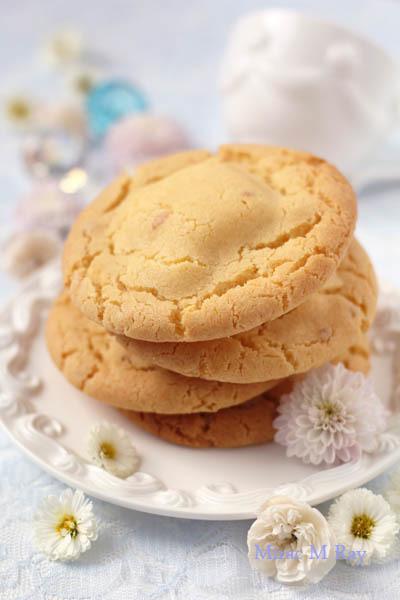 【レシピ】ねっちり強めしっとりやわらかアメリカンクッキーレモンクリームチーズ味-