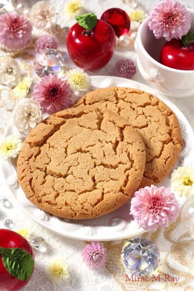 しっとりソフト&ねっちりアメリカンアップルティークッキー【レシピ】