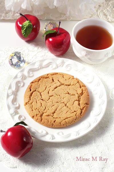 しっとりソフト&ねっちりアメリカンクッキー・アップルティー味【レシピ】