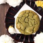 【レシピ】ねっちり強めしっとりやわらかアメリカンクッキー和風抹茶ホワイトチョコレート