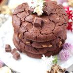 【レシピ】ねっちり強めしっとりやわらかアメリカンクッキー 胡桃&ダブルチョコレート