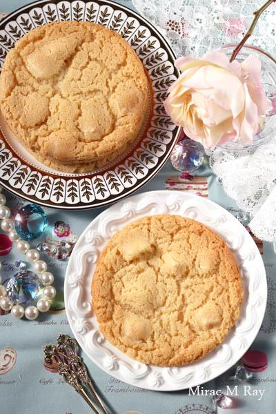 【レシピ】大判薄型サクサククリスピー冷めてねっちり強めアメリカンホワイトチョコチャンククッキー