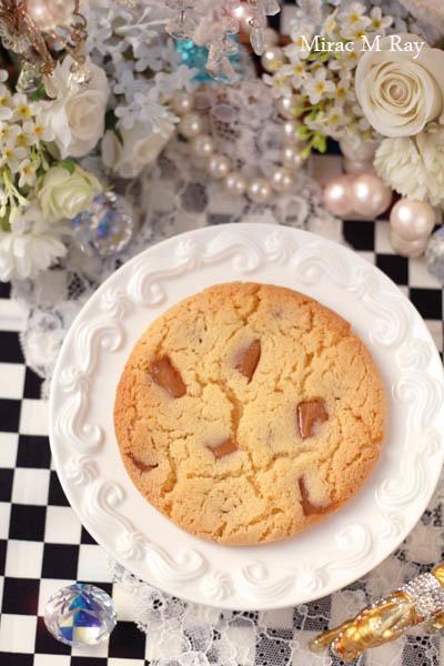【レシピ】温めて食べるのがおすすめ!しっとりソフトアメリカンクッキー・キャラメル