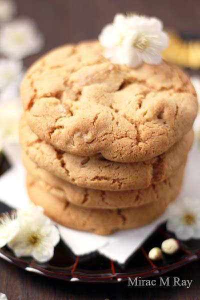 【レシピ】しっとりソフトアメリカンクッキー・黒糖メープルウォールナッツ(冷やしてねっちり強め)