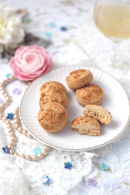 【レシピ】極さくほろ。厚焼きチーズサブレクッキー