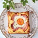 【レシピ】贅沢に分厚いラピュタパン・マヨネーズベーコンエッグトースト