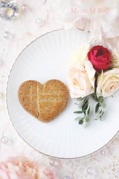 【レシピ】ハート形アールグレイ紅茶のサブレクッキー
