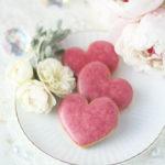 【レシピ】華やかに甘酸っぱいハート形サブレフランボワーズ・ラズベリーアイシングクッキー