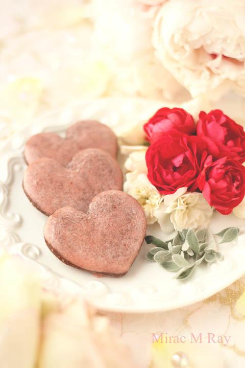 【レシピ】ハート形サブレショコラフレーズ(ストロベリーアイシングチョコレートクッキー)