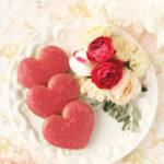 【レシピ】サブレアールグレイフランボワーズ ハート形紅茶サブレ アールグレイ×ラズベリーアイシングクッキー