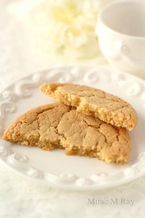 【レシピ】しっとりソフトアメリカンクッキー・プレーン(冷やしてねっちり強め・きび砂糖風味)