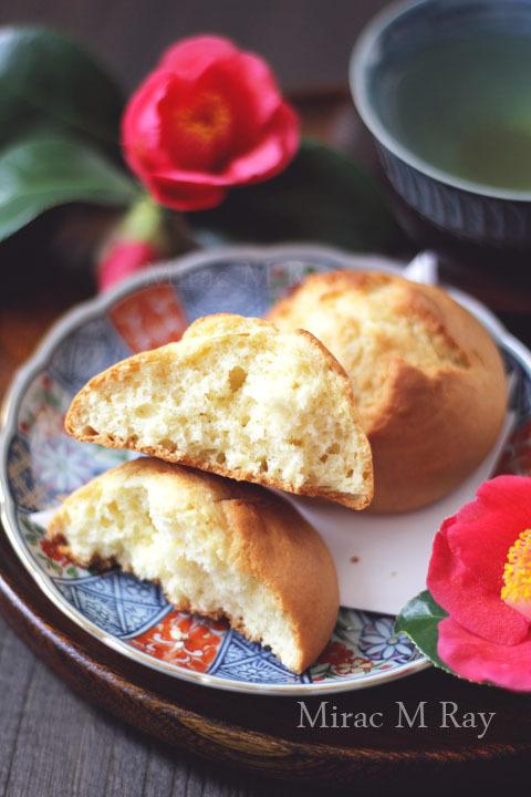 【レシピ】甘食 ふわっと軽くほろっと崩れてはちみつ&バター香るver