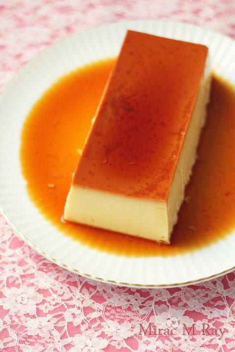 【レシピ】パウンド型でつくる 固めあっさり系焼きプリン・卵白消費&はちみつ入り