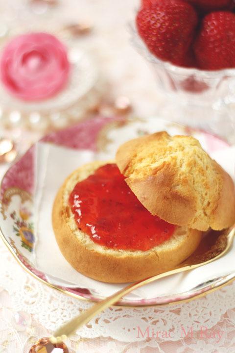【レシピ】甘食 砂糖控えめジャムサンド用