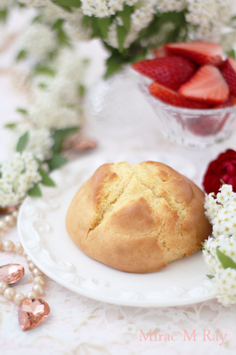 【レシピ】ちょっと大きい甘食 甘さ控えめふんわり軽くてほろりver.