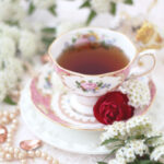 Tea Time in Spring