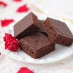 【レシピ】チョコレートブラウニー 甘さ控えめほろっと軽いケーキ食感ver.