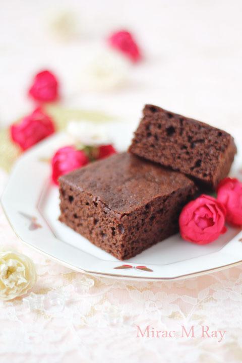 【レシピ】チョコレートブラウニー 甘さやや控えめしっとり濃厚ふんわりケーキver.
