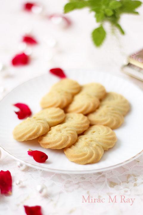 【レシピ】サブレ・ヴィエノワ・絞り出しクッキー さっくさく甘さ控えめS字形ver.